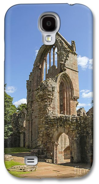 Old Relics Galaxy S4 Cases - Ruined wall of ancient Dryburgh abbey Galaxy S4 Case by Patricia Hofmeester