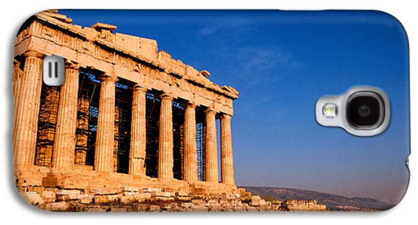Ancient Civilization Galaxy S4 Cases - Ruins Of A Temple, Parthenon, Athens Galaxy S4 Case by Panoramic Images