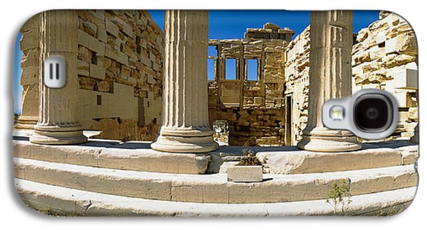 Ancient Civilization Galaxy S4 Cases - Ruins Of A Temple, Parthenon, The Galaxy S4 Case by Panoramic Images