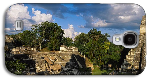 Ruins Of An Old Temple, Tikal, Guatemala Galaxy S4 Case by Panoramic Images