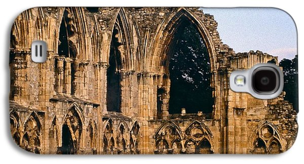 Ancient Galaxy S4 Cases - Ruins of St. Marys Abbey Galaxy S4 Case by Stuart Litoff