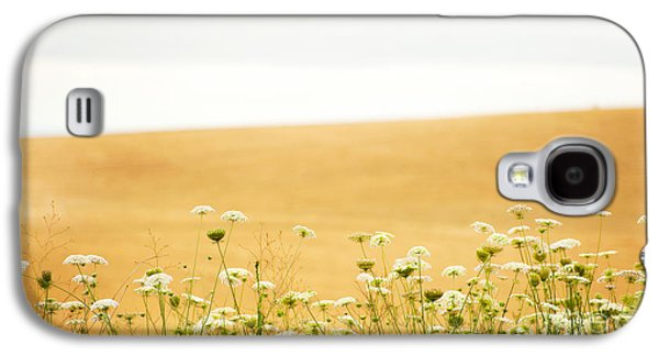 Laura Wrede Galaxy S4 Cases - Run With Me Through a Field of Wild Flowers Galaxy S4 Case by Artist and Photographer Laura Wrede