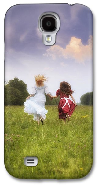 Person Galaxy S4 Cases - Running Galaxy S4 Case by Joana Kruse