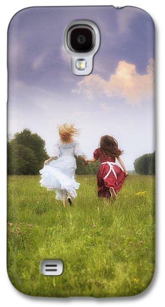 Girl Galaxy S4 Cases - Running Galaxy S4 Case by Joana Kruse