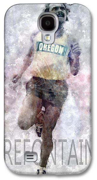 Nike Galaxy S4 Cases - Running Legend Steve Prefontaine Galaxy S4 Case by Daniel Hagerman