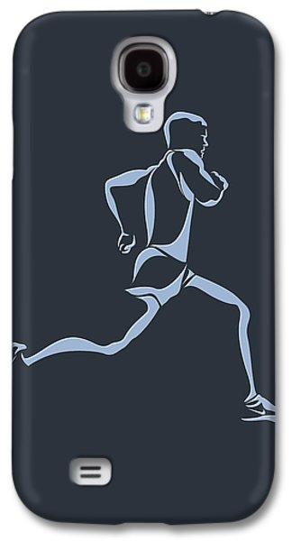 Running Runner12 Galaxy S4 Case by Joe Hamilton