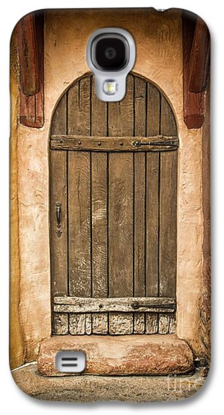 Old Door Galaxy S4 Cases - Rural Arch Door Galaxy S4 Case by Carlos Caetano