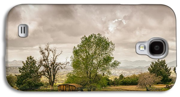 Shed Galaxy S4 Cases - Rural East County Galaxy S4 Case by Joseph Smith