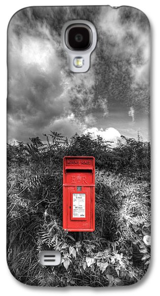 Mail Box Galaxy S4 Cases - Rural Post box Galaxy S4 Case by Mal Bray