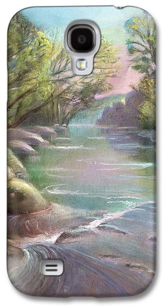 Rushing Creek Gatlinburg Tennessee Galaxy S4 Case by Kathleen Bonadonna
