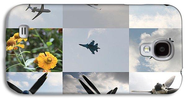 Machinery Galaxy S4 Cases - Russian aviation Galaxy S4 Case by Lali Kacharava