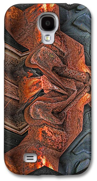 Photo Manipulation Galaxy S4 Cases - Rust Flow Galaxy S4 Case by Wendy J St Christopher
