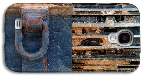Machinery Galaxy S4 Cases - Rustafarian Too Galaxy S4 Case by Marlene Burns