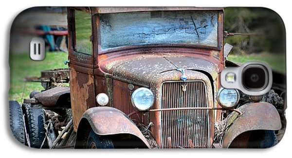Farm Truck Galaxy S4 Cases - Rusted and Busted Galaxy S4 Case by Todd Hostetter