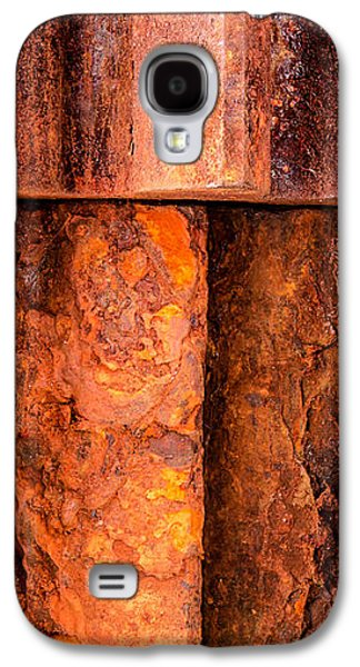 Rusted Gears  Galaxy S4 Case by Jim Hughes