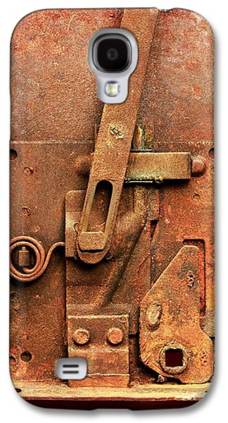 Rusted Latch Galaxy S4 Case by Jim Hughes