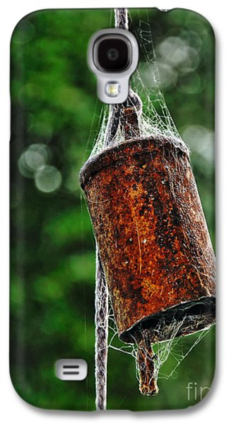 Metal Sheet Galaxy S4 Cases - Rusted Old Cowbell Galaxy S4 Case by Kaye Menner