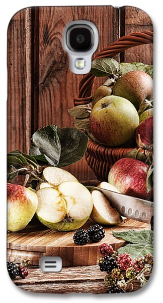 Rustic Galaxy S4 Cases - Rustic Apples Galaxy S4 Case by Amanda And Christopher Elwell