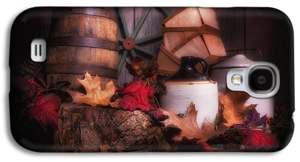 Whisky Galaxy S4 Cases - Rustic Fall Still Life Galaxy S4 Case by Tom Mc Nemar