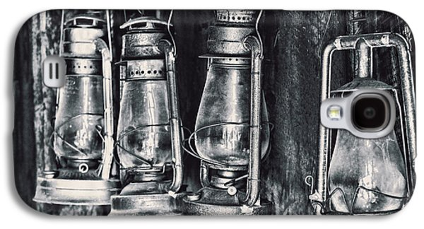 Gas Lamp Photographs Galaxy S4 Cases - Rustic Lanterns Galaxy S4 Case by Kelley King