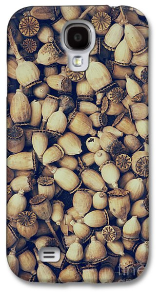 Capsule Galaxy S4 Cases - Rustic Poppies Galaxy S4 Case by Tim Gainey