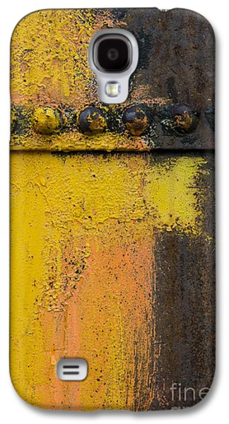 Machinery Galaxy S4 Cases - Rusting Machinery Galaxy S4 Case by John Shaw