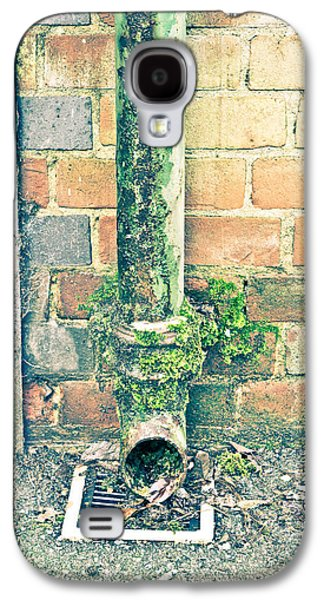 Drain Galaxy S4 Cases - Rusty drainpipe Galaxy S4 Case by Tom Gowanlock