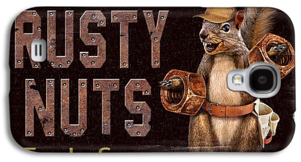 Rusty Nuts Galaxy S4 Case by JQ Licensing