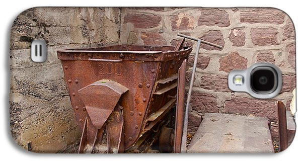 Mining Photos Galaxy S4 Cases - Rusty Ruins In Jerome Arizona Galaxy S4 Case by Denise Mazzocco