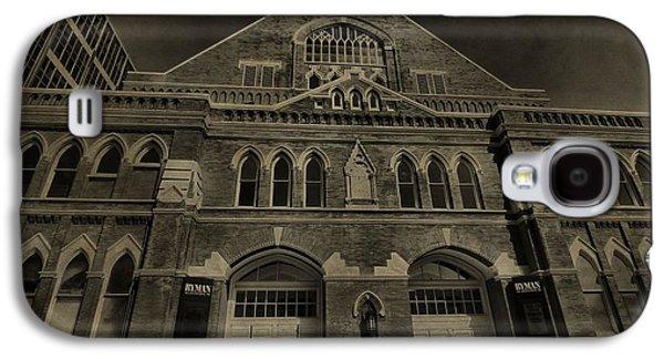 Tennessee Landmark Galaxy S4 Cases - Ryman Auditorium Galaxy S4 Case by Dan Sproul