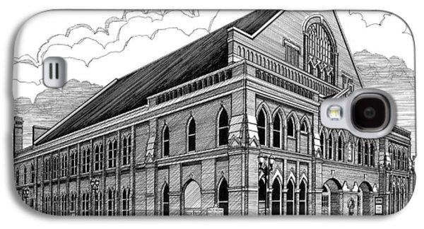 Ryman Auditorium In Nashville Tn Galaxy S4 Case by Janet King