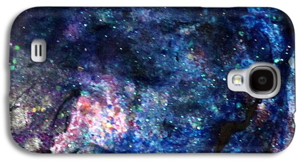 Splashy Paintings Galaxy S4 Cases - Sa121 Galaxy S4 Case by Kathleen Fowler