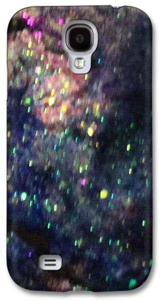 Splashy Paintings Galaxy S4 Cases - Sa124 Galaxy S4 Case by Kathleen Fowler
