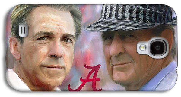 Saban And Bear Galaxy S4 Case by Mark Spears