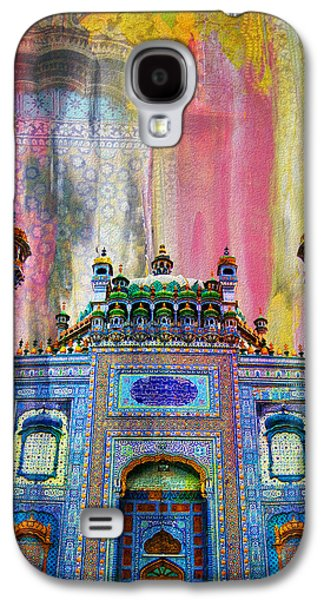 Museum Paintings Galaxy S4 Cases - Sachal Sarmast Tomb Galaxy S4 Case by Catf