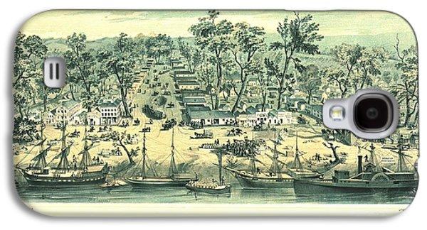 Sacramento California 1849 Galaxy S4 Case by Padre Art