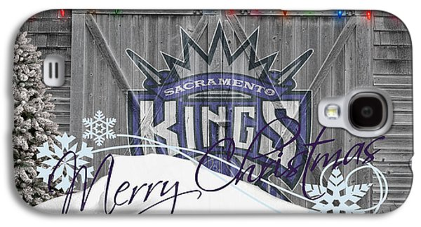 Dunk Galaxy S4 Cases - Sacramento Kings Galaxy S4 Case by Joe Hamilton