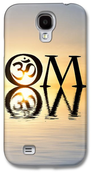 Religious Galaxy S4 Cases - Sacred AUM Galaxy S4 Case by Tim Gainey