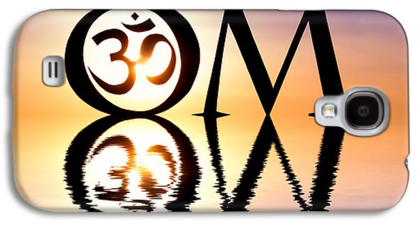 Recently Sold -  - Religious Galaxy S4 Cases - Sacred OM Galaxy S4 Case by Tim Gainey