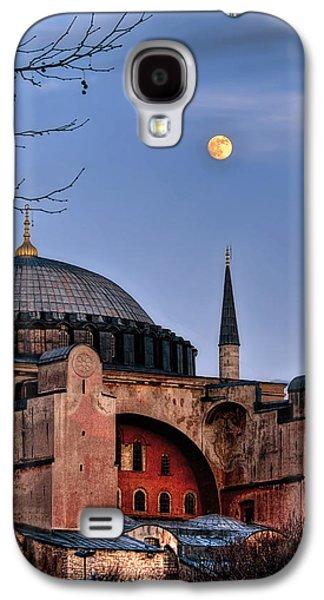 Istanbul Galaxy S4 Cases - Sacred Silence Hagiasofia Galaxy S4 Case by Leyla Ismet
