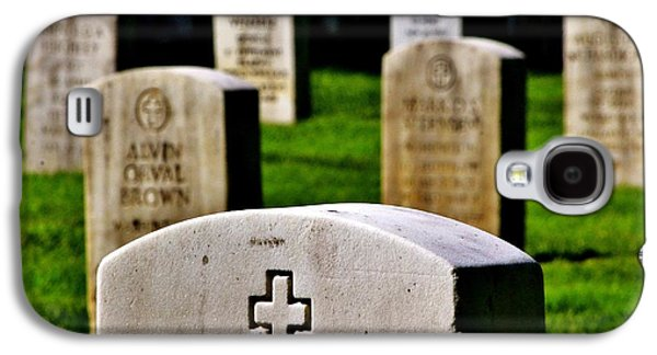Headstones Galaxy S4 Cases - Sacrifice Galaxy S4 Case by Benjamin Yeager