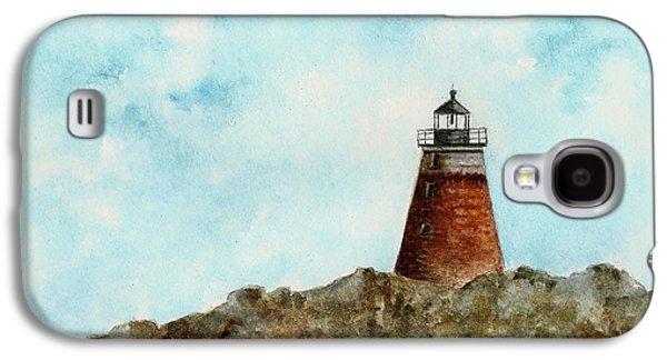 Saddleback Ledge Lighthouse Galaxy S4 Case by Michael Vigliotti