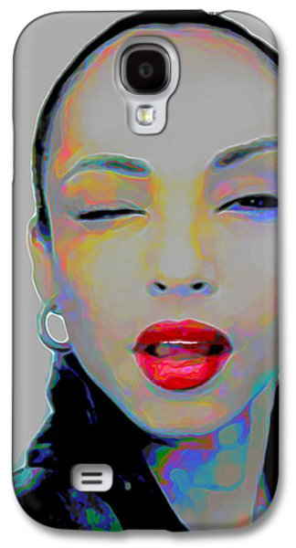 Face Digital Galaxy S4 Cases - Sade 3 Galaxy S4 Case by  Fli Art