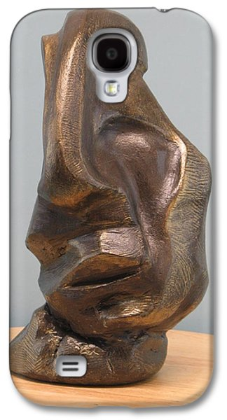 Original Sculptures Galaxy S4 Cases - Sadness Galaxy S4 Case by Nili Tochner