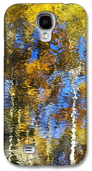 Abstract Nature Galaxy S4 Cases - Safari Mosaic Abstract Art Galaxy S4 Case by Christina Rollo