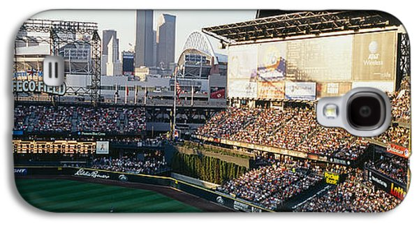 Sports Photographs Galaxy S4 Cases - Safeco Field Seattle Wa Galaxy S4 Case by Panoramic Images
