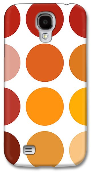 Shades Of Red Galaxy S4 Cases - Saffron Colors Galaxy S4 Case by Frank Tschakert