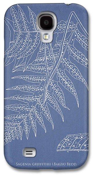 Ferns Galaxy S4 Cases - Sagenia griffithii Galaxy S4 Case by Aged Pixel