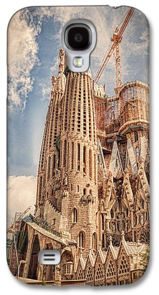 Spirituality Galaxy S4 Cases - Sagrada Familia Galaxy S4 Case by Erik Brede