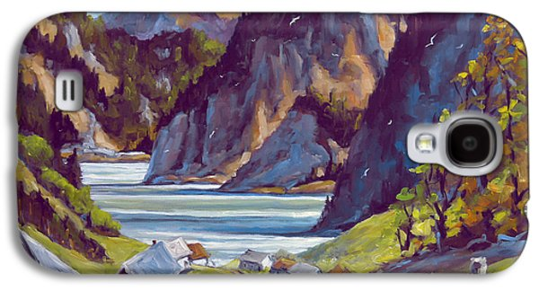 Canadiens Paintings Galaxy S4 Cases - Saguenay Summer by Prankearts Galaxy S4 Case by Richard T Pranke